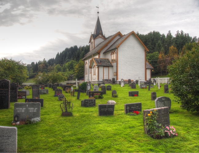 sekken church cemetery