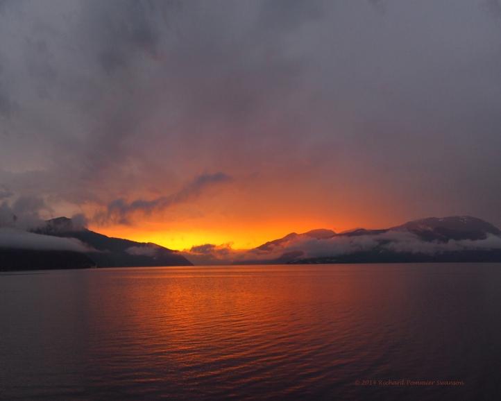 Sognefjord Sunrise