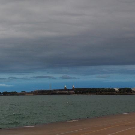 chicago navy pier panorama