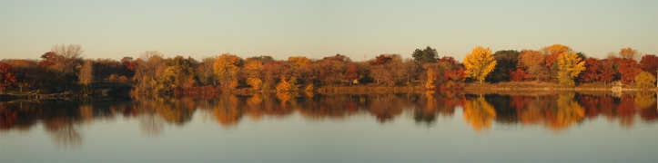 lake phalen autumn