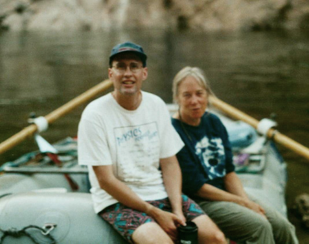 rick and laurie on tuolomne 2004