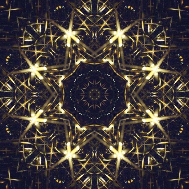 tinsel abstract