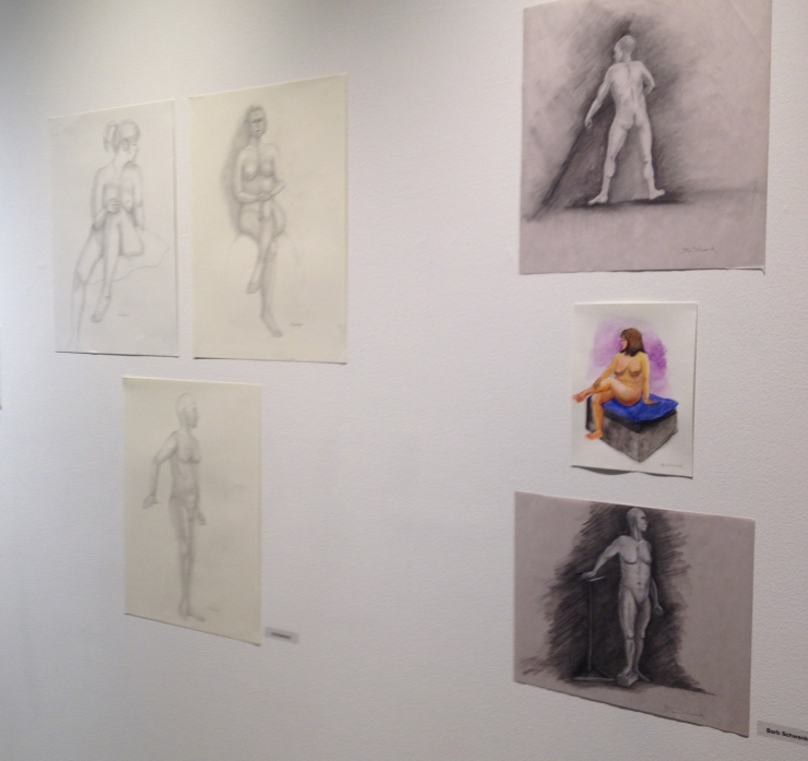 life drawing exhibit