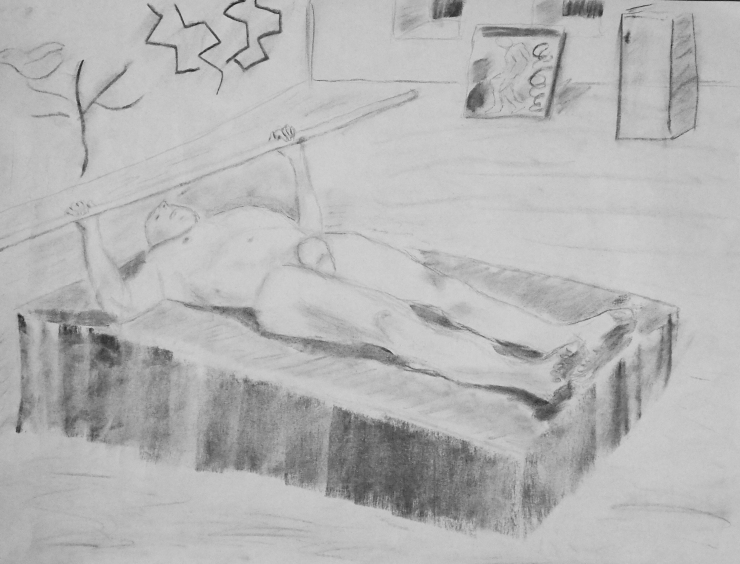 life drawing - one hour