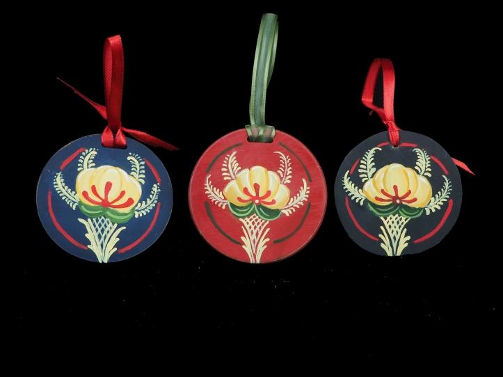 Rosemal Ornaments