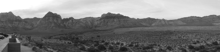 Red Rock Canyon Panorama