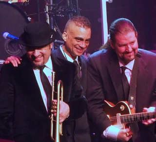 Horn player David Perrico, Drummer Jose Pepe Jimenez, Guitarist Jim Buck