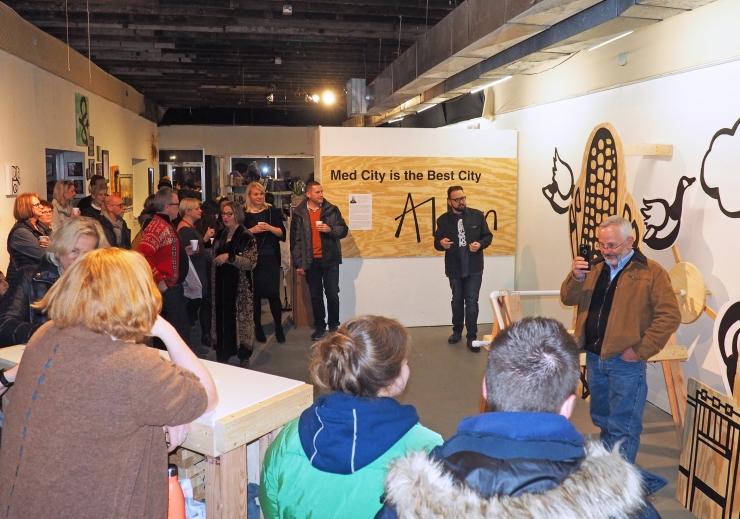 Gallery 24 Art Reception