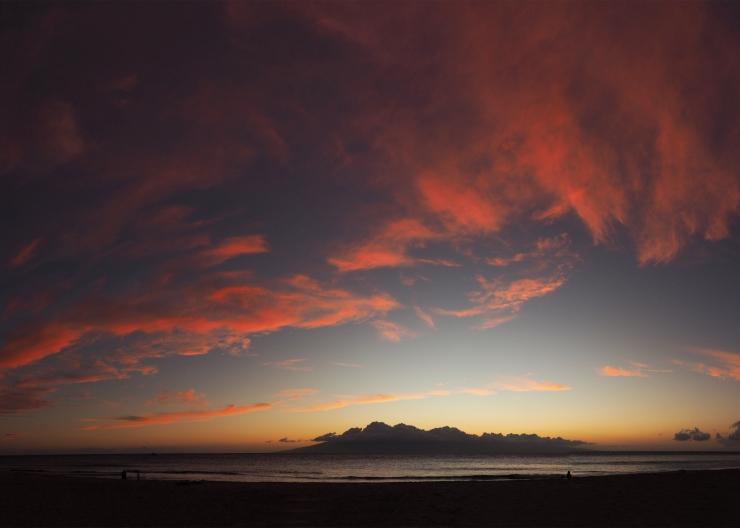 Sagan's Sunset