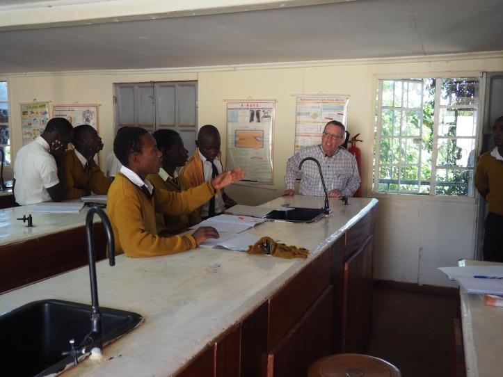 Teaching at New Dawn School in Nairobi