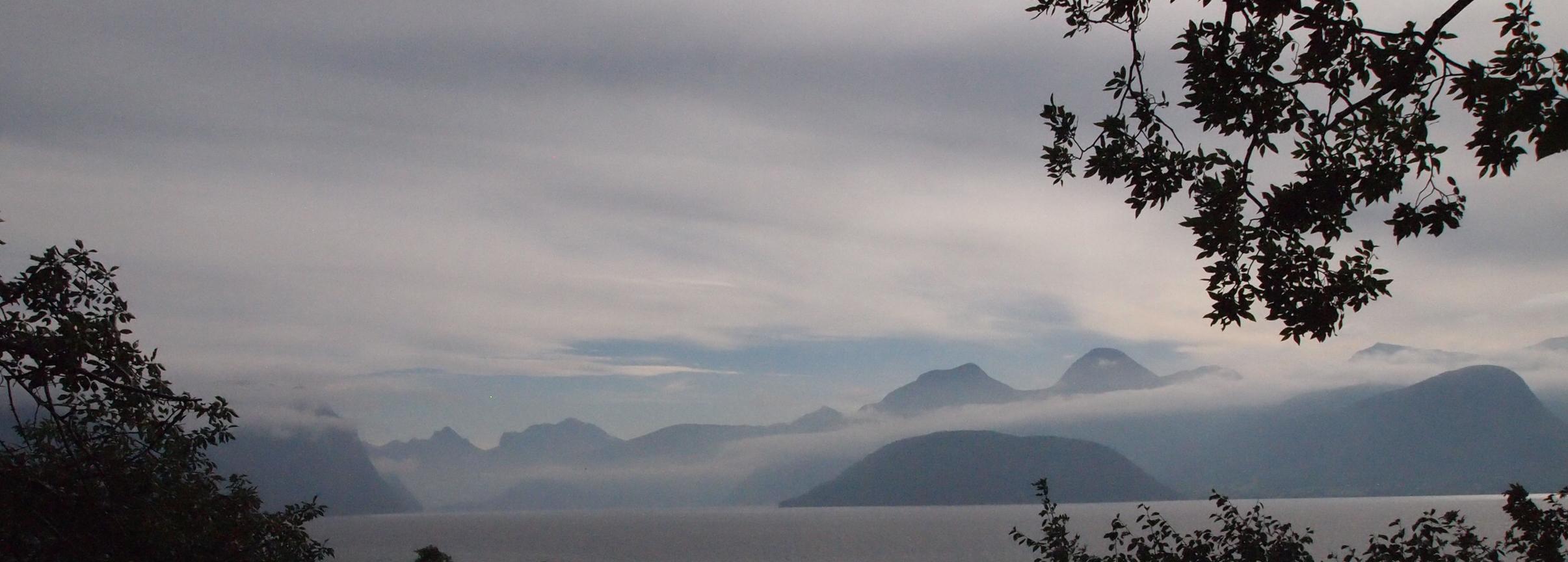 View from Sekken Island